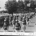 Drill team 1938