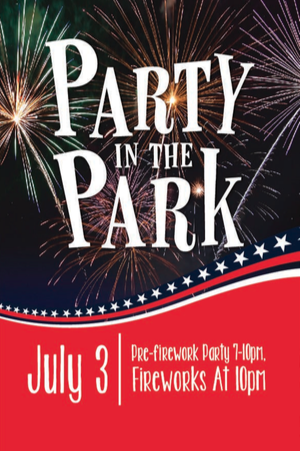 Party in the Park July 3